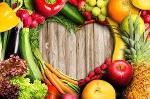 Продукты полезные для сердца и здоровья сосудов: фрукты, овощи, еда для диеты укрепляющей сердечную мышцу