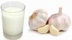 Молоко с чесноком против давления показания и способ применения