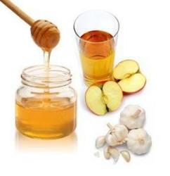 Яблочный уксус мед и чеснок применение – домашние рецепты