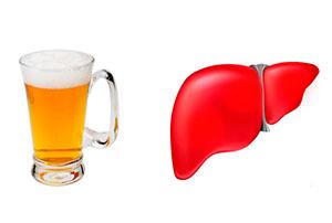 Как алкоголь влияет на печень при гепатите