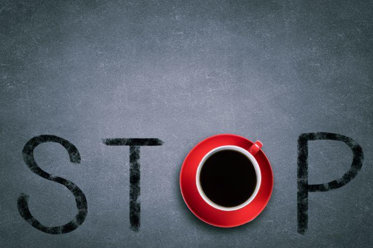 хватит пить кофе