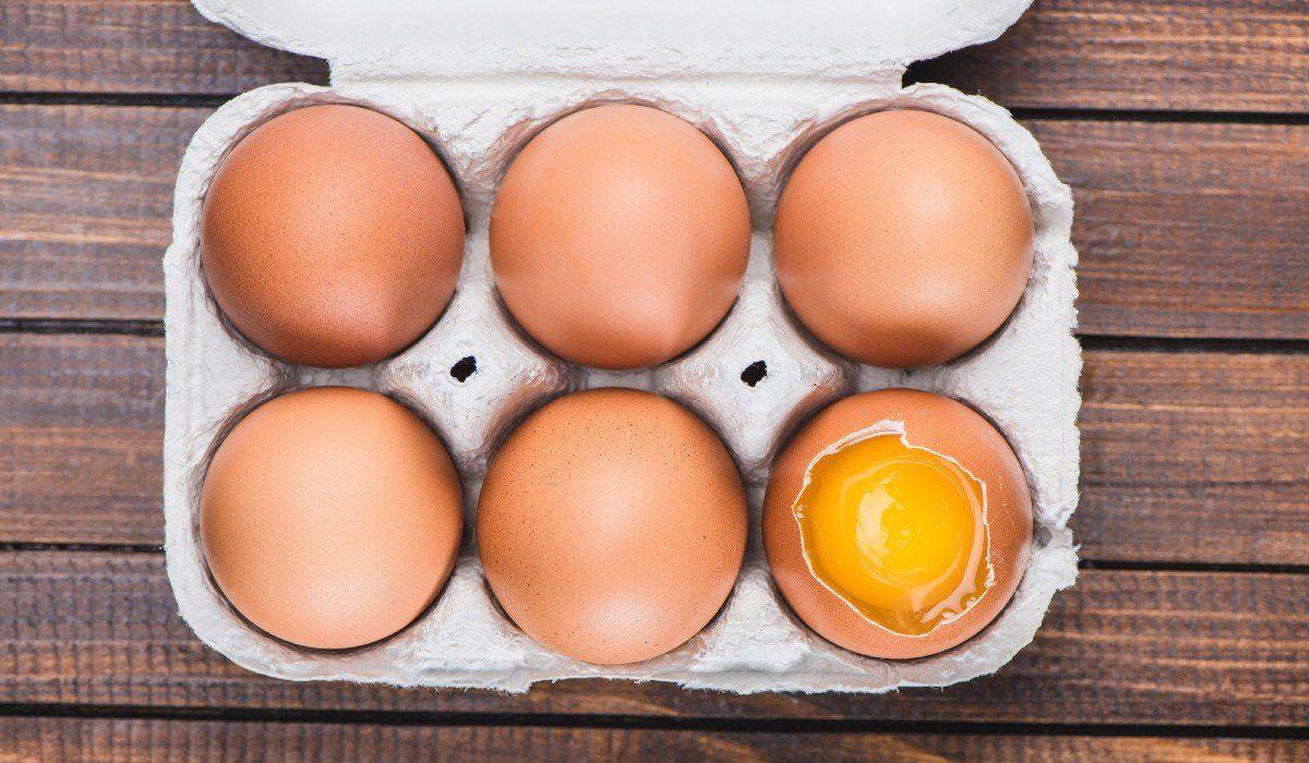 замороженные яйца